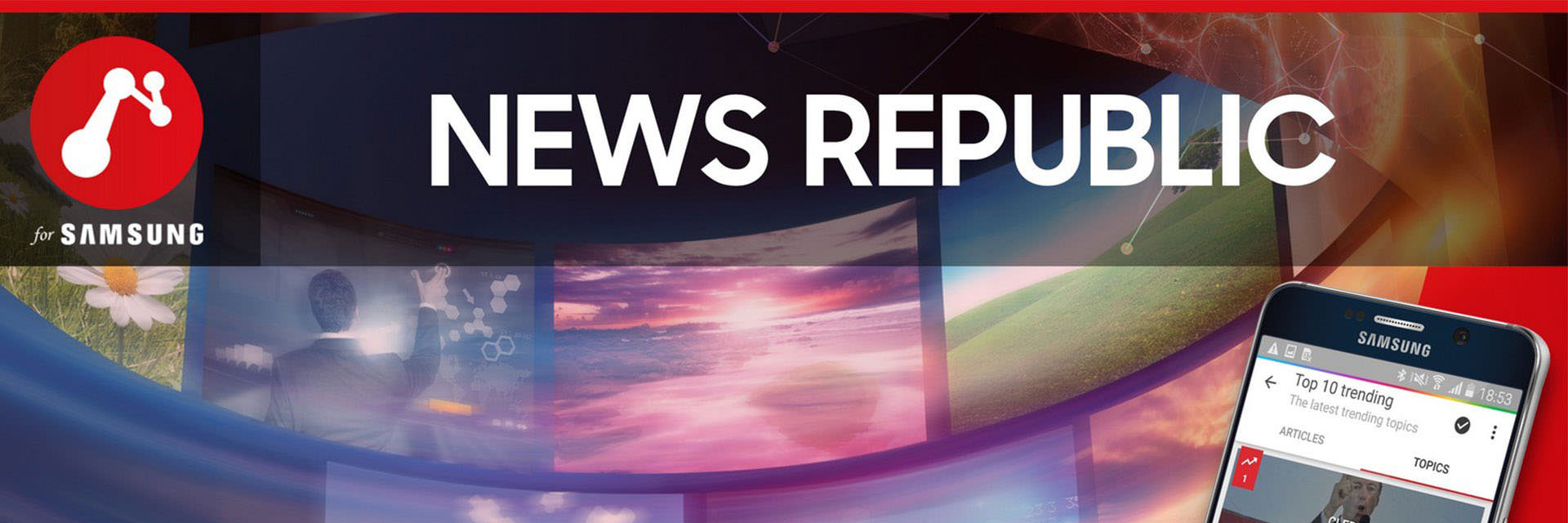 News Republic — A Great Example of What We Look For in a Samsung Partner