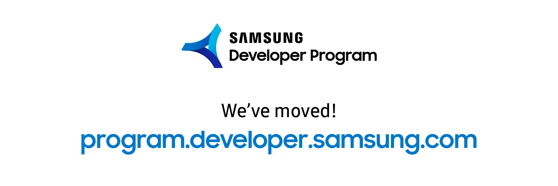 The Samsung Developer Program (SDP) has a new home!