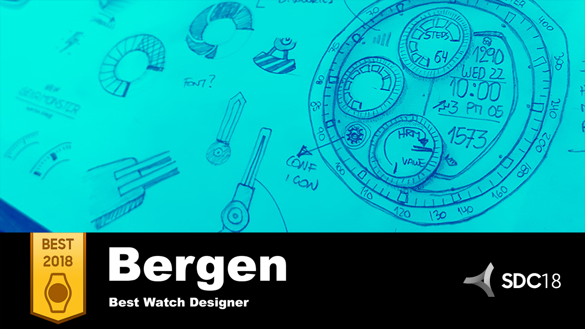 'Best of 2018': Bergen Founder Nicolas Castro Says Creating a Top Watch Face Design is All in the Details