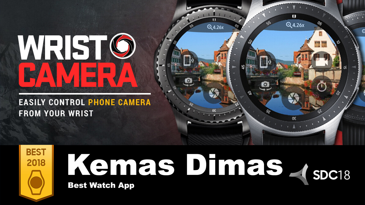 'Best of 2018': Kemas Dimas Takes a User-Centric Approach to Watch App Development