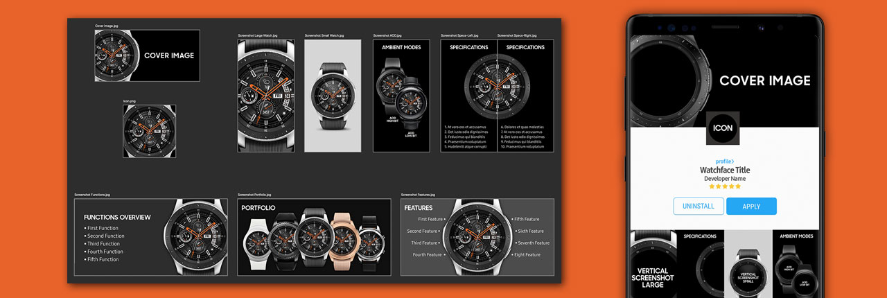 Create Eye-Catching Galaxy Store Listings With The Watch Asset Creator