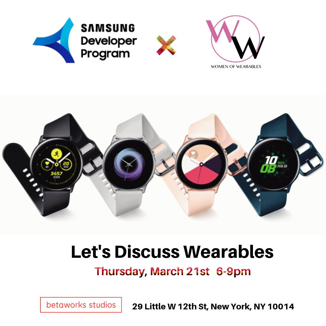 Let's Discuss Wearables