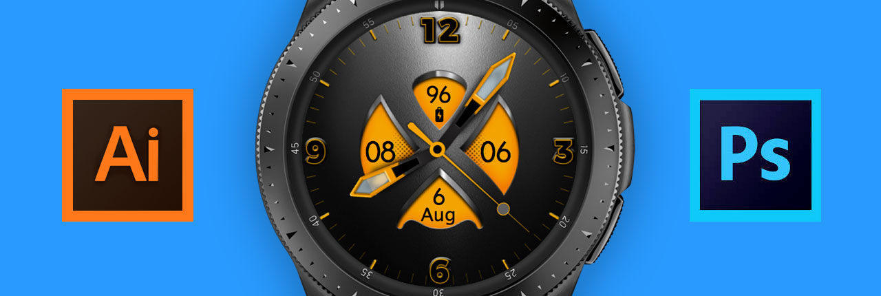 How To Import Your Artwork And Create A Watch Face Using Galaxy Watch Designer