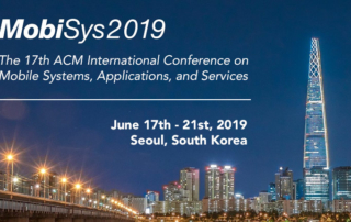 ACM Open IoT Day at MobiSys 2019